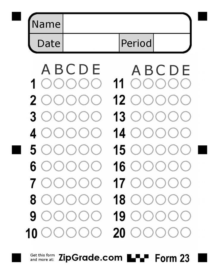 79 INFO ZIPGRADE ANSWER SHEET 50 PDF DOCX DOWNLOAD