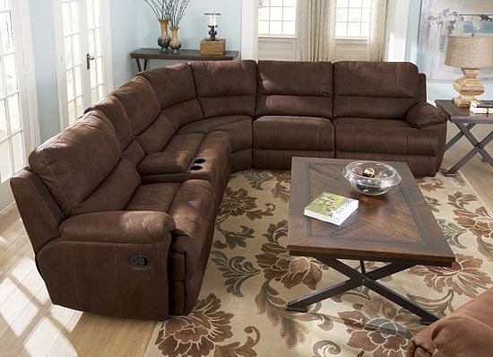 raymour and flanigan leather living room furniture grey yellow accessories laramie sectional, rooms | havertys $2000 ...