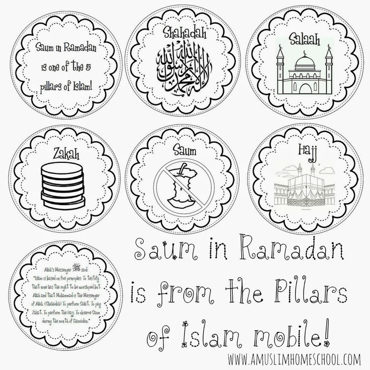 a muslim homeschool: Saum in Ramadan is one of the 5