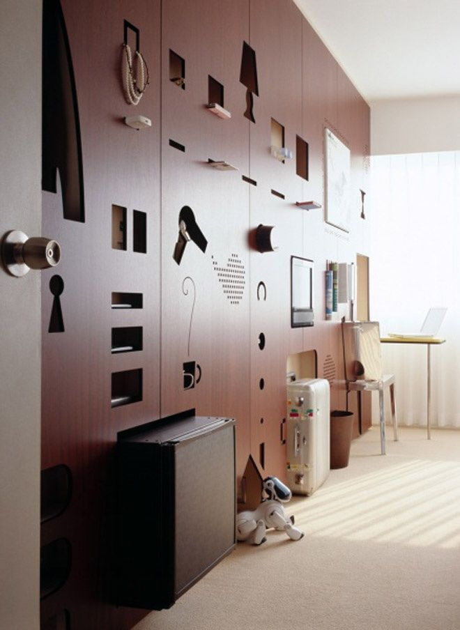 Positive And Negative Spaces! Creative Hotel Room