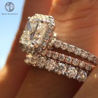 25+ best ideas about Stacked wedding rings on Pinterest ...
