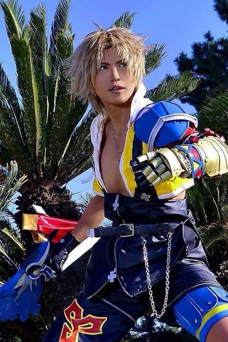Best Tidus Cosplay Final Fantasy X FF10 Final