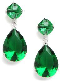 1000+ ideas about Emerald Green Earrings on Pinterest ...