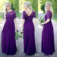 25+ Best Ideas about Long Purple Bridesmaid Dresses on ...