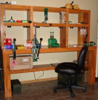 Custom Reloading Bench To Works