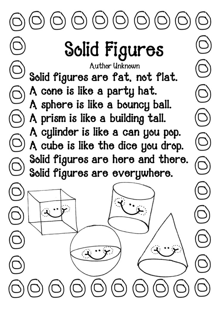 25+ best ideas about Shape Poems For Kids on Pinterest
