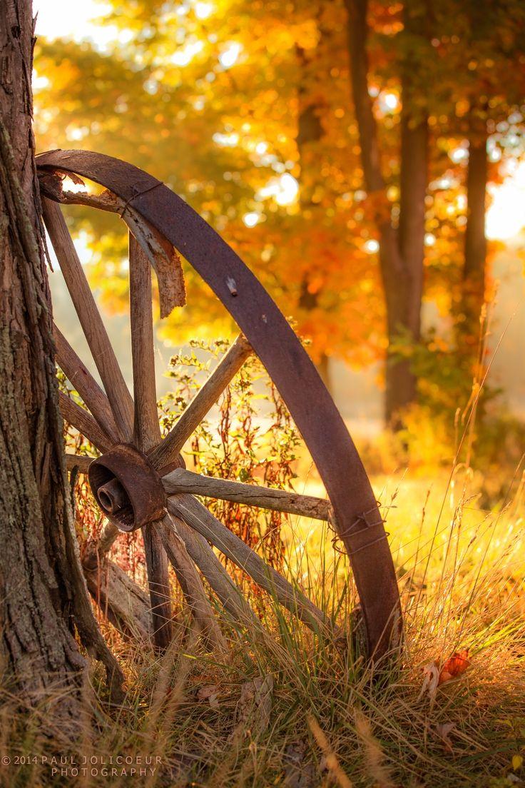 Love the old,wagon wheels