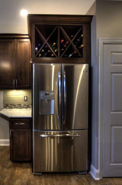 Above Refrigerator Cabinet