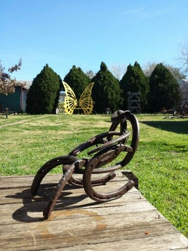 horseshoe rocking chair lift chairs rental 1000+ images about crafts on pinterest | cowboys, welding and cactus