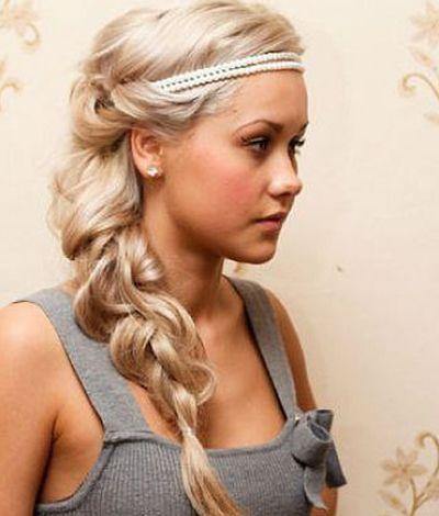 25 Best Ideas About Headband Hairstyles On Pinterest Headband
