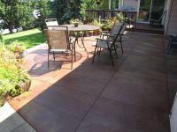 Best 25+ Concrete patio stain ideas on Pinterest | Acid ...