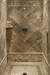 tile ideas for downstairs shower stall | For the Home ...