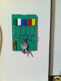 Lego key holder | I.MADE.IT | Pinterest | Lego key holders ...