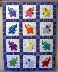 25+ best ideas about Elephant quilt on Pinterest ...