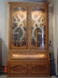Simple Wooden Gun Cabinet Plans - WoodWorking Projects & Plans