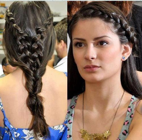 283 Best Images About Braid Hairstyles On Pinterest Side Braid