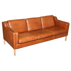 Darrin Leather Sofa Reviews Beds Sydney Sale Danish Modern Mid Century ...