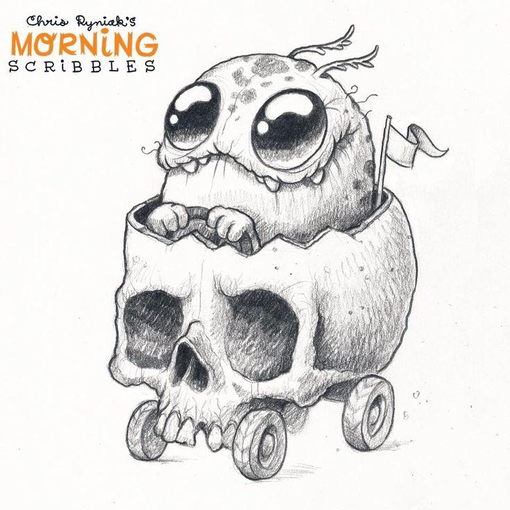 De 25+ bedste idéer til Monster drawing på Pinterest