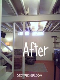 25+ best ideas about Exposed Basement Ceiling on Pinterest ...