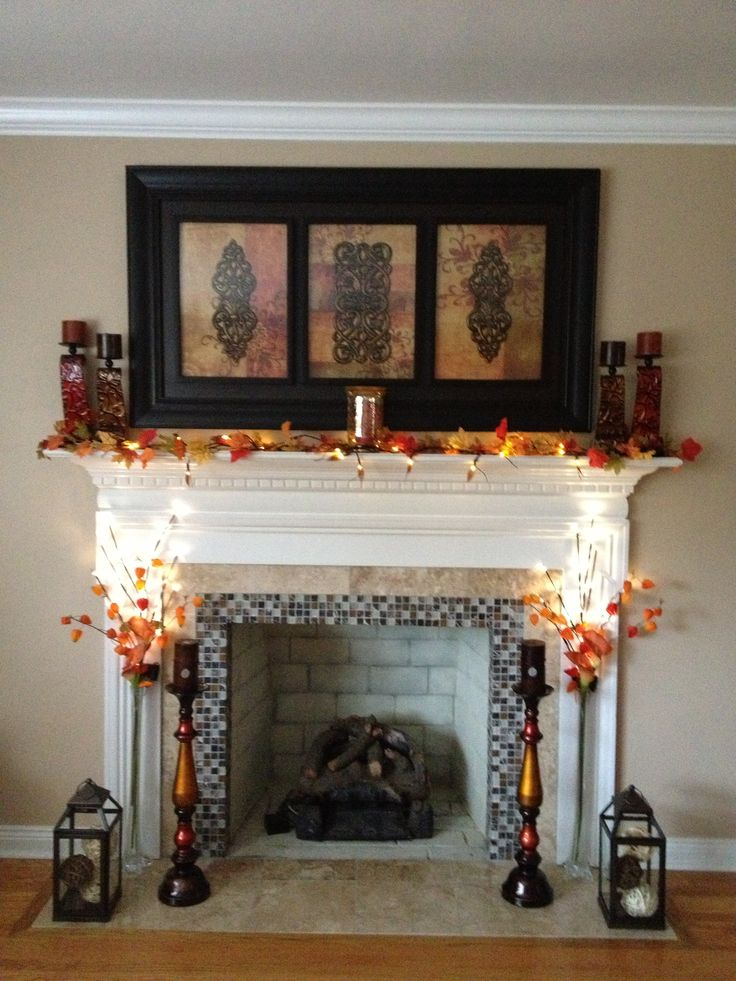 Fireplace Decoration With Edcdeacbbee Fireplace Design Fireplace 25+ Best Ideas About Fall Fireplace Decor On Pinterest