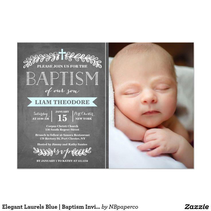 Boy Christening Invitations Template