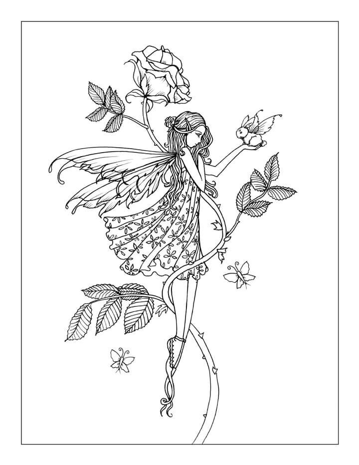 Best 25+ Fairy coloring pages ideas on Pinterest