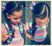 kids hairstyles mixed chicks braids