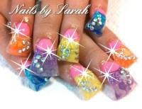 Easter acrylic nails. | Hair, Nails n Beauty | Pinterest ...