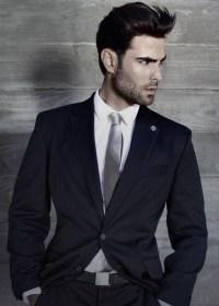 :: Navy Suit | Silver Tie :: | Suit & Tie | Pinterest ...