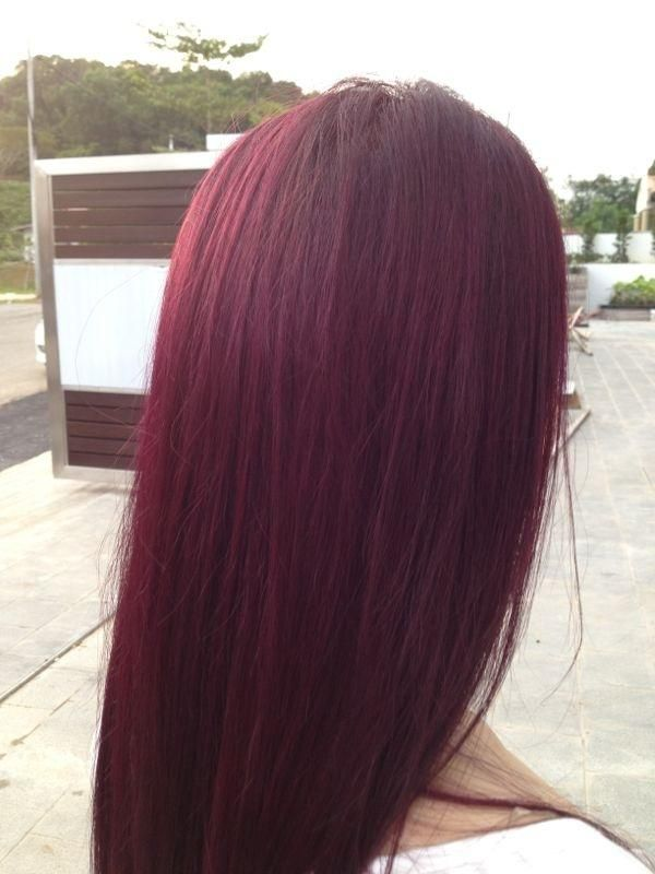 Goldwell Violet Red Hair Color No Bleaching Require
