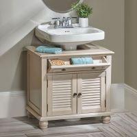 25+ best ideas about Pedestal sink storage on Pinterest ...