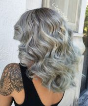 flowing silver