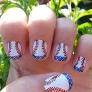 ideas baseball nail