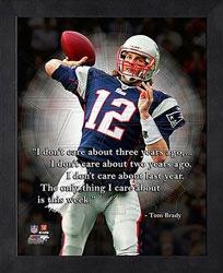 Tom Brady Motivational Quote  New England Patriots http