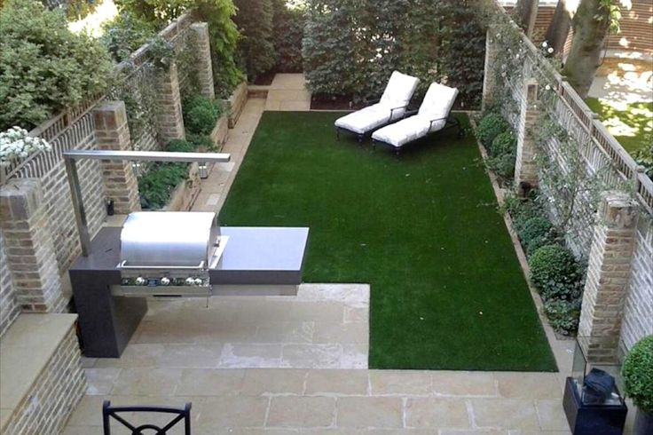 Sleek Modern Garden Knightsbridge London UK Jo Thompson