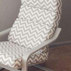 How To Recover Glider Rocking Chair Cushions Bouncy Chairs For Babies Mamas And Papas Recovered Ikea Poang | Huis Pinterest Ottoman Cover,