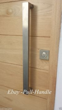 Details about Entrance Entry Door Pull push Square Long ...