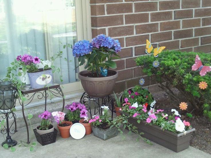 Liczba Najlepszych Obrazów Na Temat My Small Patio Garden Ideas