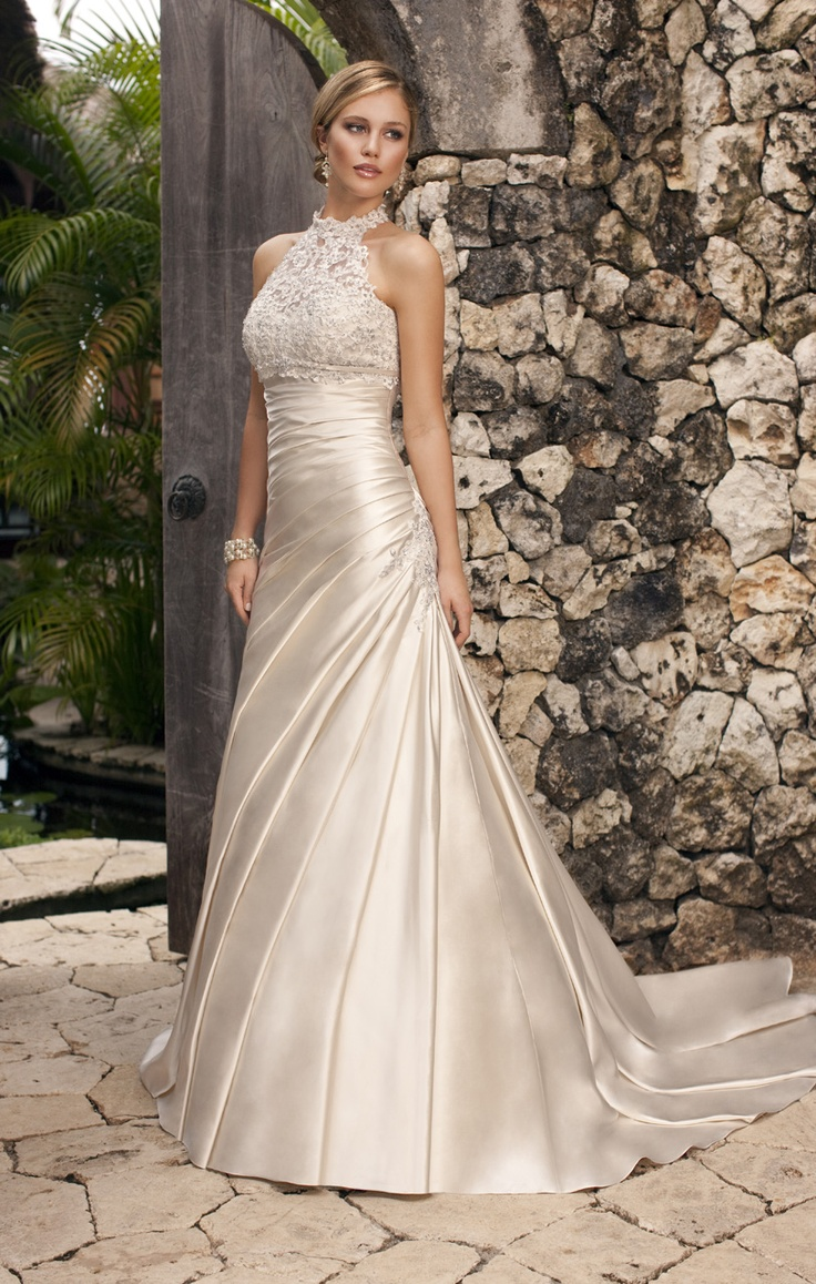 25 best ideas about Halter Wedding Dresses on Pinterest  Halter style wedding gowns Weeding