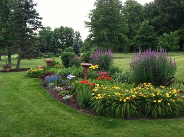 25 best ideas about Perennial gardens on Pinterest