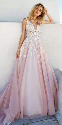 25+ best ideas about Blush wedding dresses on Pinterest ...