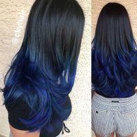 Navy Blue Hair Colour Inspiration Rock Your Locks Hair ...