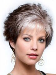 1000 ideas short grey haircuts