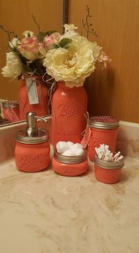 Best 25+ Coral bathroom decor ideas on Pinterest