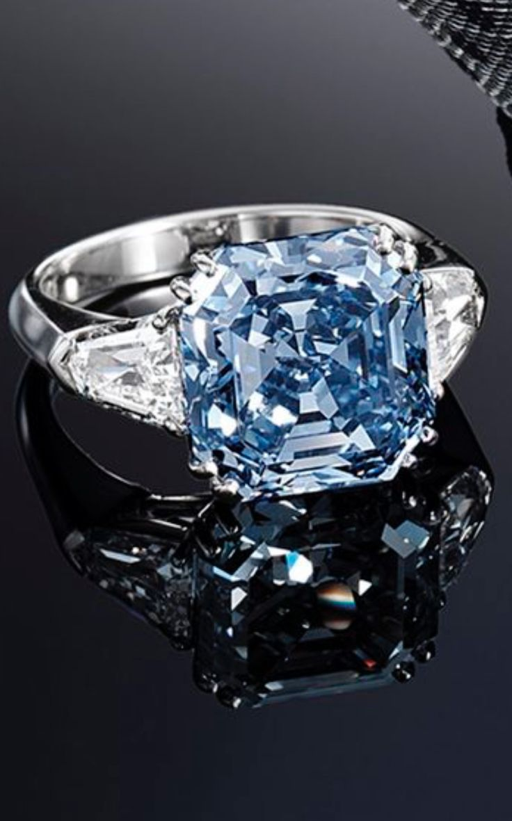 Best 20 Blue diamond rings ideas on Pinterest