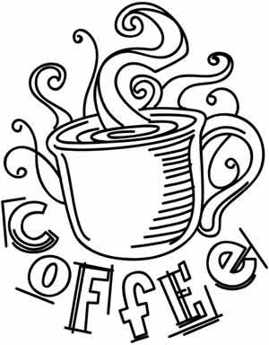 17 Best images about Teapots & Coffee Coloring Pages on