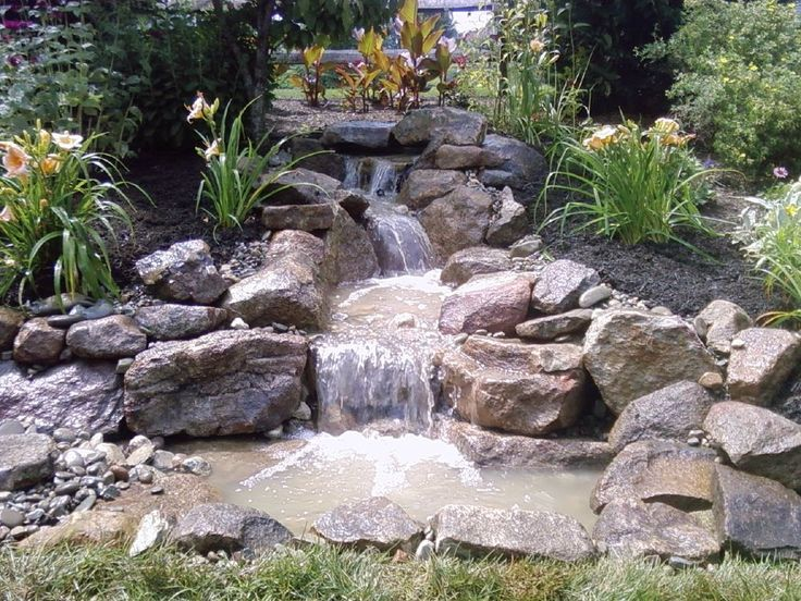 25+ best ideas about Pond water features on Pinterest