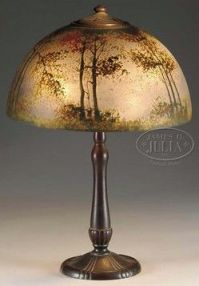 17 Best images about Cameo Glass Painted Lamps on ...