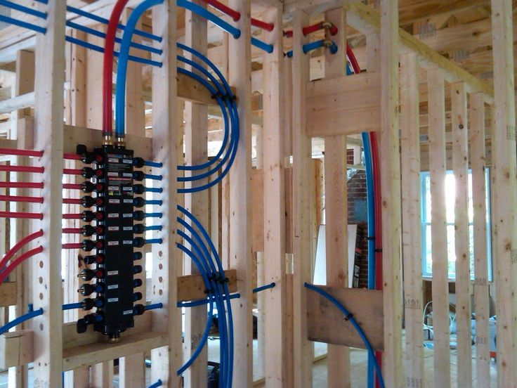 tankless water heater piping diagram 2003 club car gas golf cart wiring not quite a teardown...: plumbing progress - pex bathroom rough in started | mechanical ...