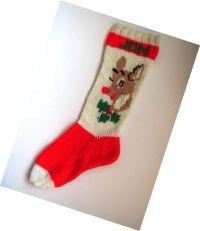 reindeer xmas stocking holders